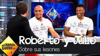 El rifirrafe de Roberto Carlos y Júlio Baptista a cuento de la altura - El Hormiguero 3.0