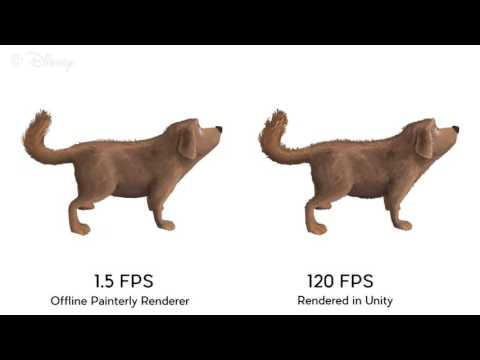 Fin Textures for Real-Time Painterly Aesthetics (SIGGRAPH 2015)