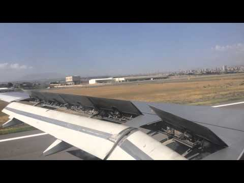 Air Armenia A-320 Landing In Yerevan Zvartnots Airport