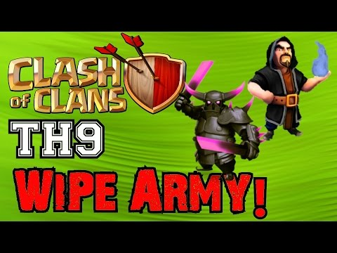 CLASH OF CLANS TH9▐ 3 Star Raids! Who Needs GoWiPe When You Can Simply WiPe???