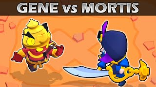 GENE vs MORTIS | 1vs1 | 21 Test | Brawl Stars