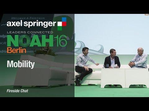 The Future of Transportation, UBER & Daimler - Full Session - Axel Springer NOAH16 Berlin