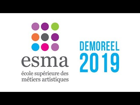 ESMA School - Demoreel (2019) - CG & FX School in France & Canada