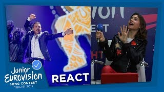 JUNIOR EUROVISION REACTS TO THE EUROVISION SONG CONTEST - PART II