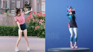 COLLECTION OF FORTNITE BAILES IN REAL LIFE.