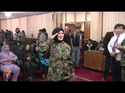 Afghanistan Women to Join Army (Radio Free Europe/Radio Liberty)