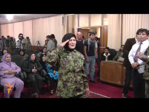 Afghanistan Women to Join Army (Radio Free Europe/Radio Liberty)