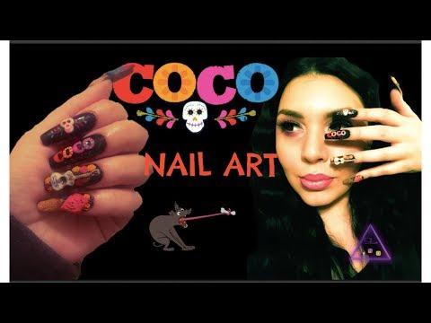 CoCo Nail Art Collab
