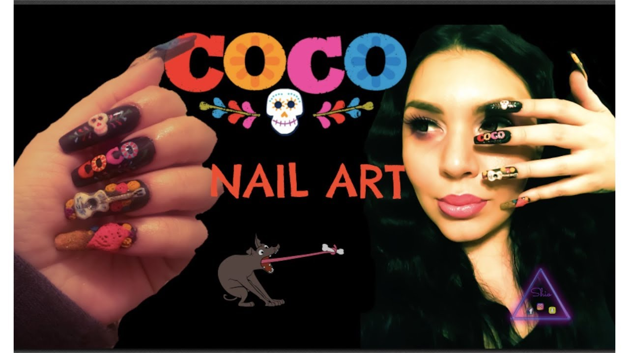 Coco Nail Art Collab Youtube