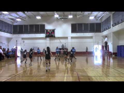 2015 Girls Varsity Volleyball 'Iolani II vs Upland Christian Academy