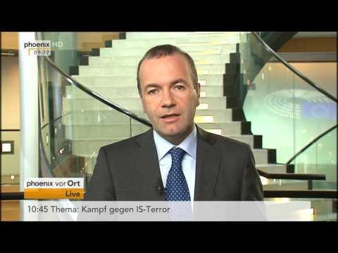 Europaskepsis und Nationalismus: Manfred Weber im Tagesgespräch am 13.09.2016