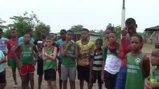 Indeportes apoya el atletismo en Vigía del Fuerte