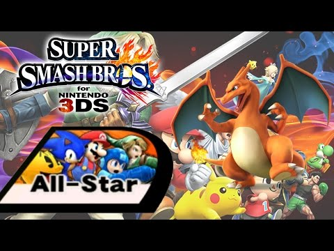 Super Smash Bros for 3DS -  All-Star Mode - Charizard