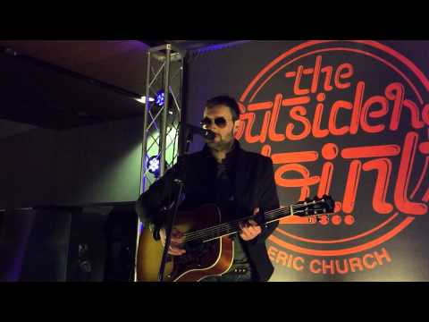 """Eric Church live acoustic performance of """"Like Jesus Does"""" and """" Chevy Van"""""""