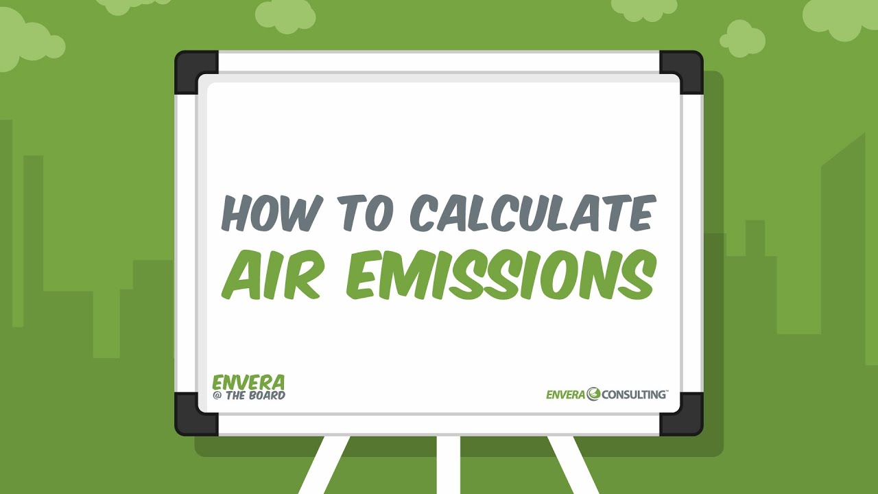 E@TB: How to Calculate Air Emissions
