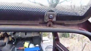 Comment démonter le coffre sur Citroën AX