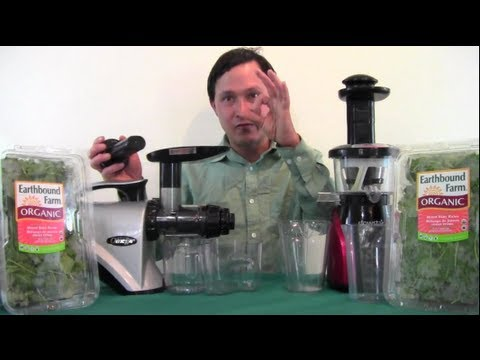 Omega NC800 vs Slowstar Juicer Comparison Review: Juicing Only Leafy Greens