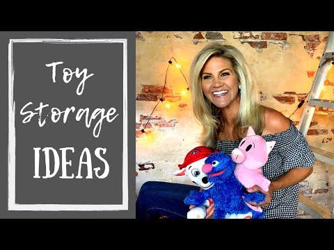 Toy Organizer Ideas (Toy Storage Furniture)