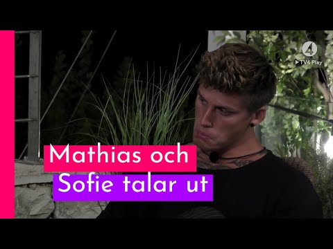 "Mathias: ""Det har sårat mig som f*n"" I Love Island Sverige 2018 (TV4 Play)"