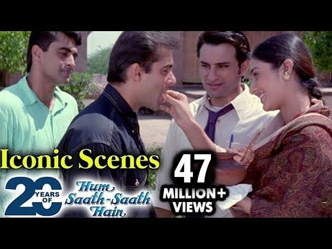 Hum Saath Saath Hain BEST Movie Scenes & Dialogues | Salman, Saif, Tabu, Karisma | Sooraj Barjatya