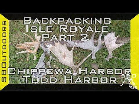 Backpacking Isle Royale Pt. 2: Chippewa Harbor to Todd Harbor