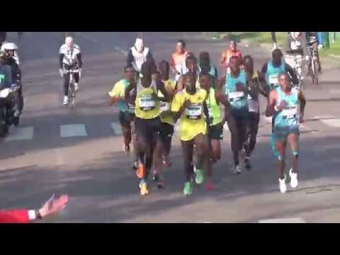Paris Marathon 2014 Kenenisa Bekele, 1 race 1 record