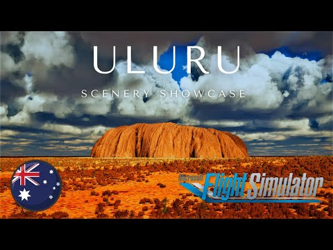 Microsoft Flight Simulator 2020   Uluru Australia   Cinematic Scenery Showcase   Ultra Graphics