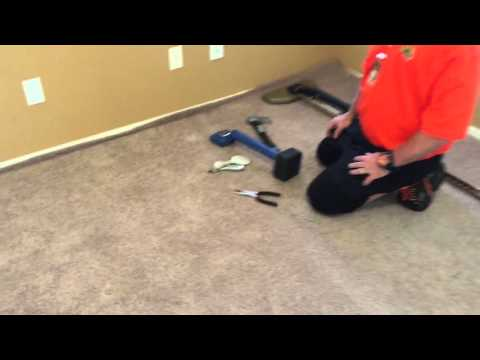 Power stretching a master bedroom