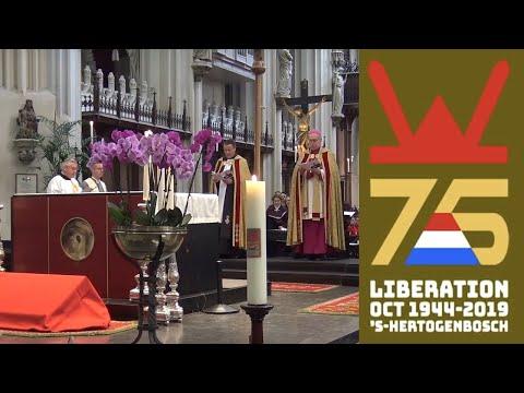 75 jaar Bevrijding 's-Hertogenbosch - Herdenkingsdienst St Jan