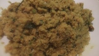 Savoury Coconut Stir Fry (pol Mallum)