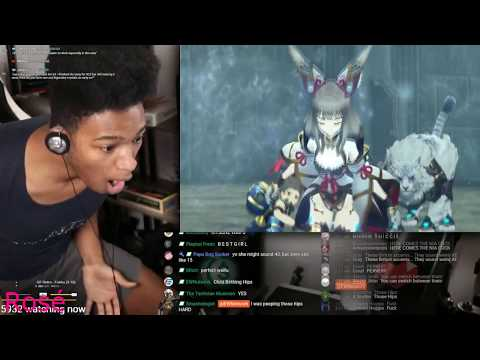 Etika plays Xenoblade Chronicles 2 story