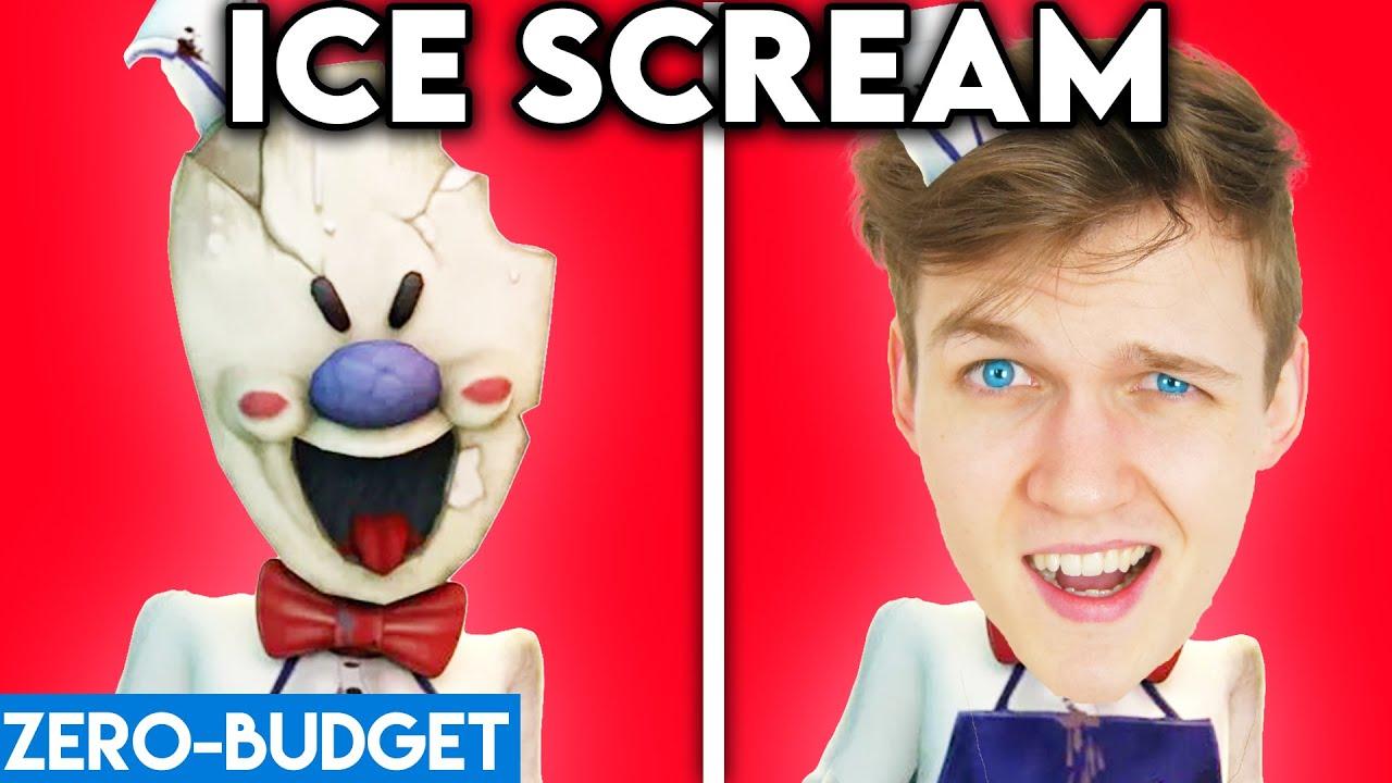 ICE SCREAM WITH ZERO BUDGET! (Ice Scream PARODY By LANKYBOX!)