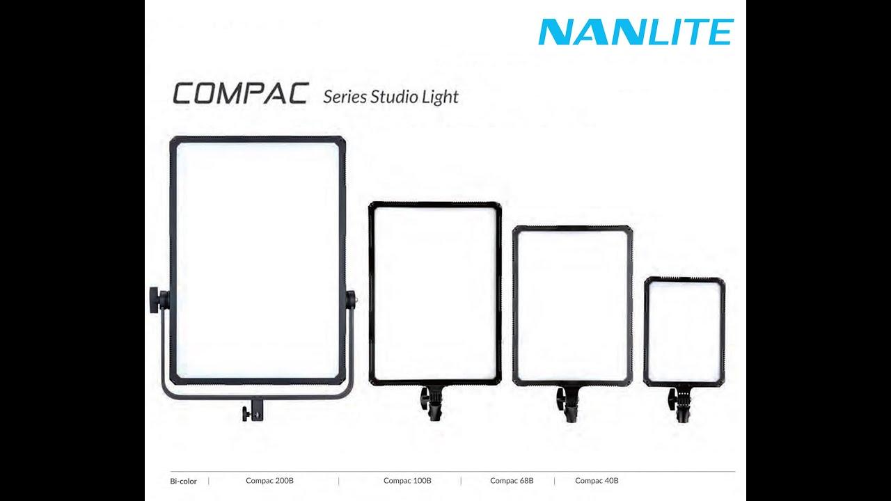 Download Short review Nanlite series Compac 40 & Compac 68B