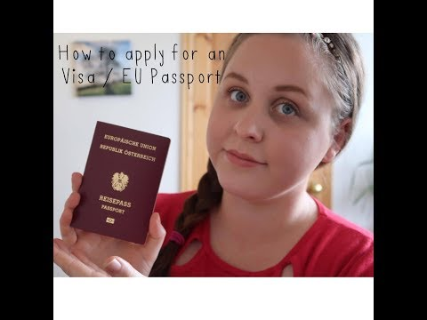 How to Apply for a Youth Mobility Visa / EU Passport - Katy Days