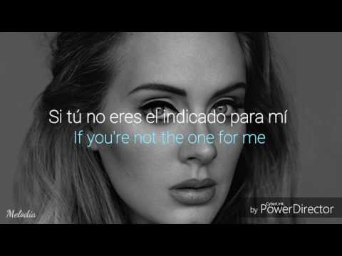 Water under the bridge - Adele (español e inglés )