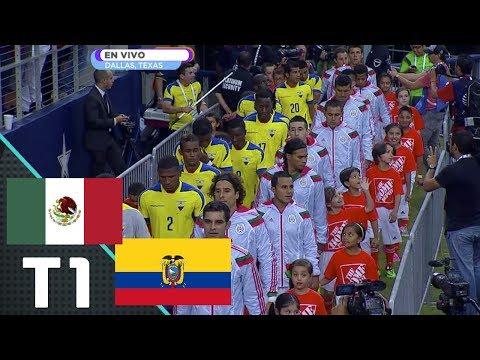 México vs Ecuador - Primer Tiempo (Partido Amistoso)