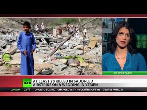 Bride among 20 killed in Saudi airstrike on wedding party in Yemen