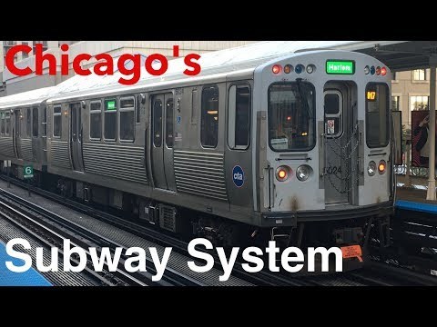 Riding The Chicago 'L' Subway System