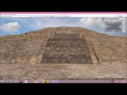 Teotihuacan ~ The Pyramid Of The Moon & Sun