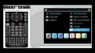 Tutorial de TI-Nspire™ CX CAS Parte 1: Distribución de Teclado y Navegación