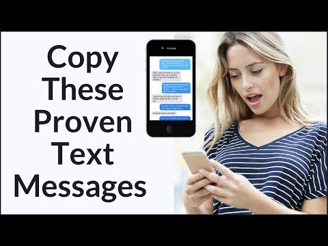 How To Text A Girl Like A Man (Copy These Text Examples)