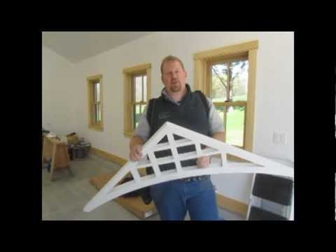 How To Install Fypon Gable Pediments
