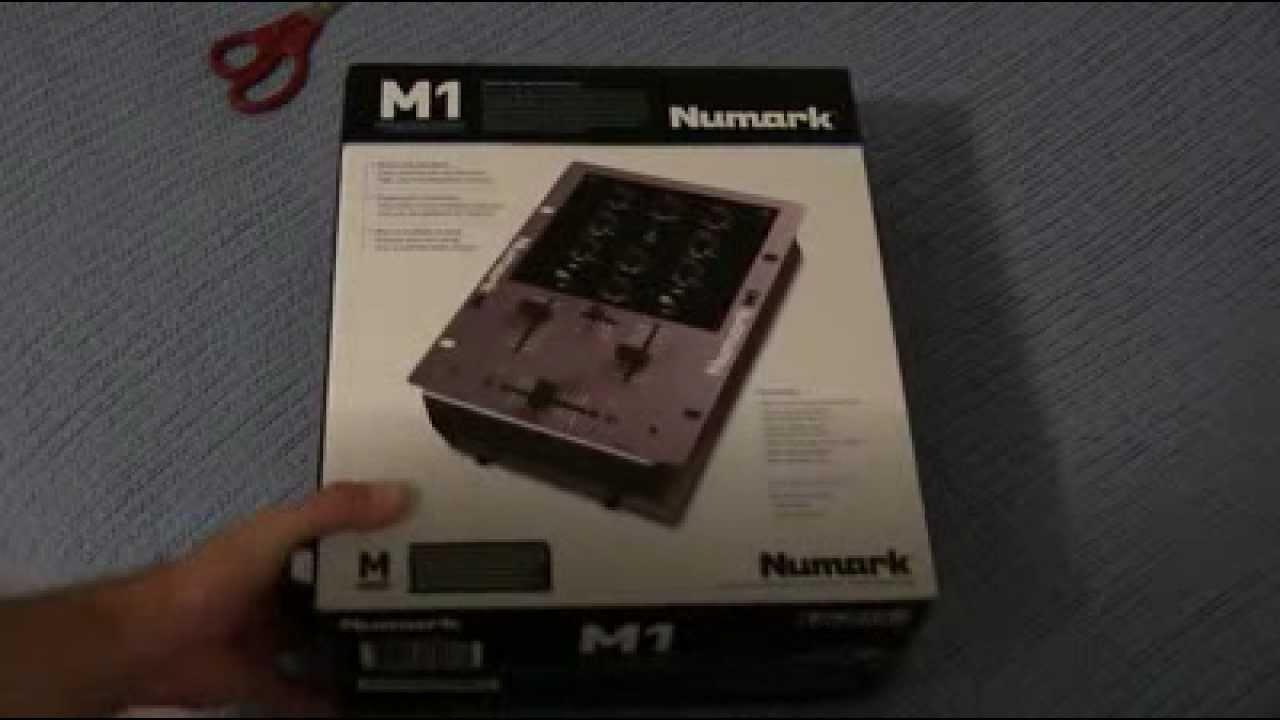 Unboxing: Numark M1 2-Channel Tabletop Scratch DJ Mixer
