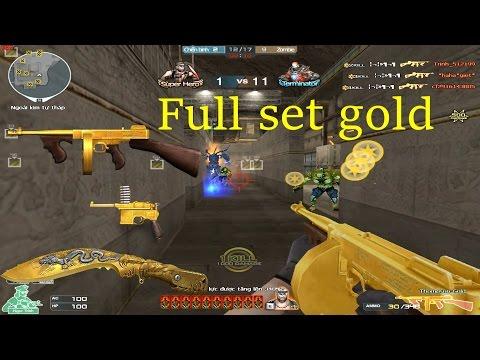[ Bình Luận CF ] Thompson-Gold - Tiền Zombie V4