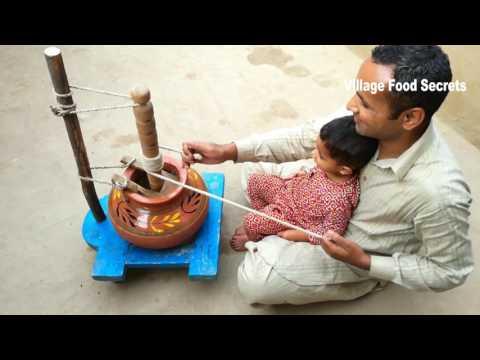 Village Food ❤ Chaati ka makhan aur lassi ❤ Madhani ❤ Grandma's Style ❤ Village Food Secrets