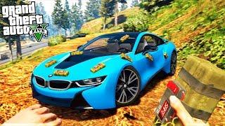 РЕАЛЬНАЯ ЖИЗНЬ В GTA 5 - ВЗОРВАЛИ BMW i8! ПОЛУЧИЛИ 40.000$ ЗА ЗАДАНИЕ! 🌊ВОТЕР