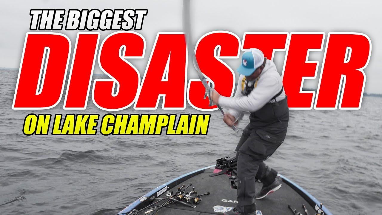 The BIGGEST DISASTER of My Career - Bassmaster Elite Lake Champlain TOURNAMENT - UFB Ep.40 (4K)