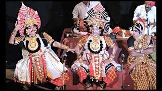 Yakshagana 2017, Kondadakuli-Sudarshana, Pradeepa Samaga-Lakshmi, Vasudeva Ranga bhat-Vishnu (HD)