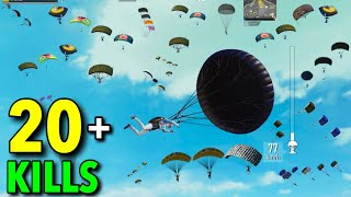BEST TACTICAL GAMEPLAY | SOLO VS SQUAD | PUBG MOBILE