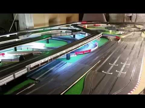 Circuit slot racing scalextric digital 55m – 6 voitures – Bourgogne – P3